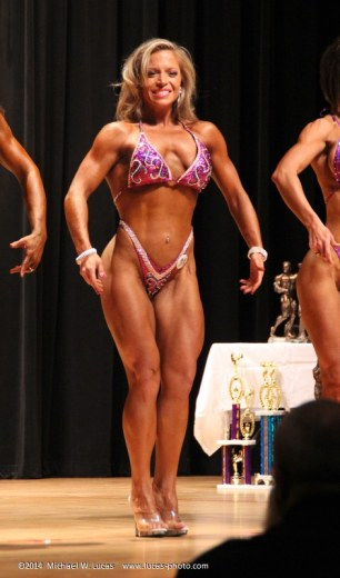2014 Ancient City bodybuilding competitor