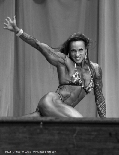 2015 Ocala Cup female bodybuilding competitor